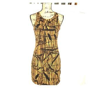 Lush patterned dress size S